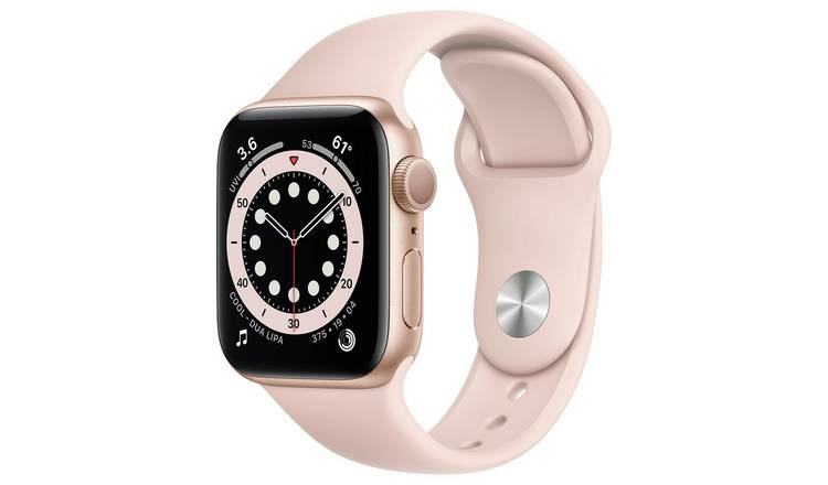 Apple Watch Series 6 GPS 40mm Gold Alu Case/Pink Sport Band