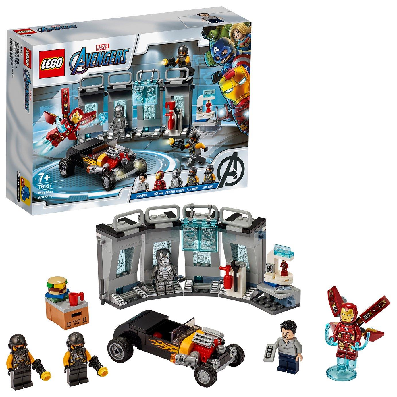 LEGO Marvel Avengers Iron Man Armory Set 76167