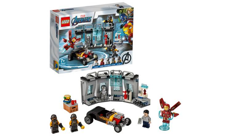 LEGO Marvel Avengers Iron Man Armory Set 76167