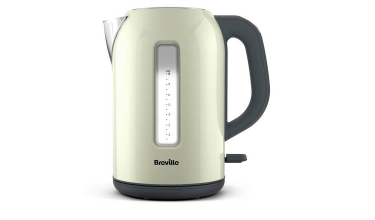 Breville IKT198 Illuminated Stainless Steel Kettle - Cream