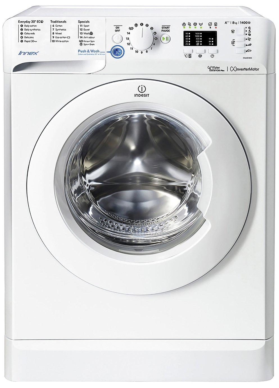 Indesit BWA81484XWUK 8KG 1400 Spin Washing Machine - White