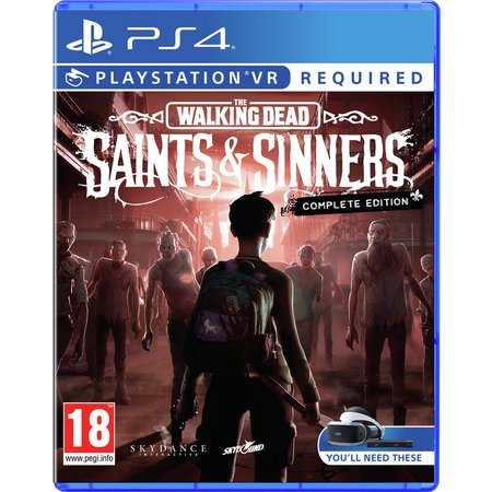 The Walking Dead Saint And Sinner PS VR (PS4) Game