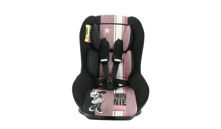 Disney Minnie Mouse Maxim Group 0/1 Car Seat - Pink