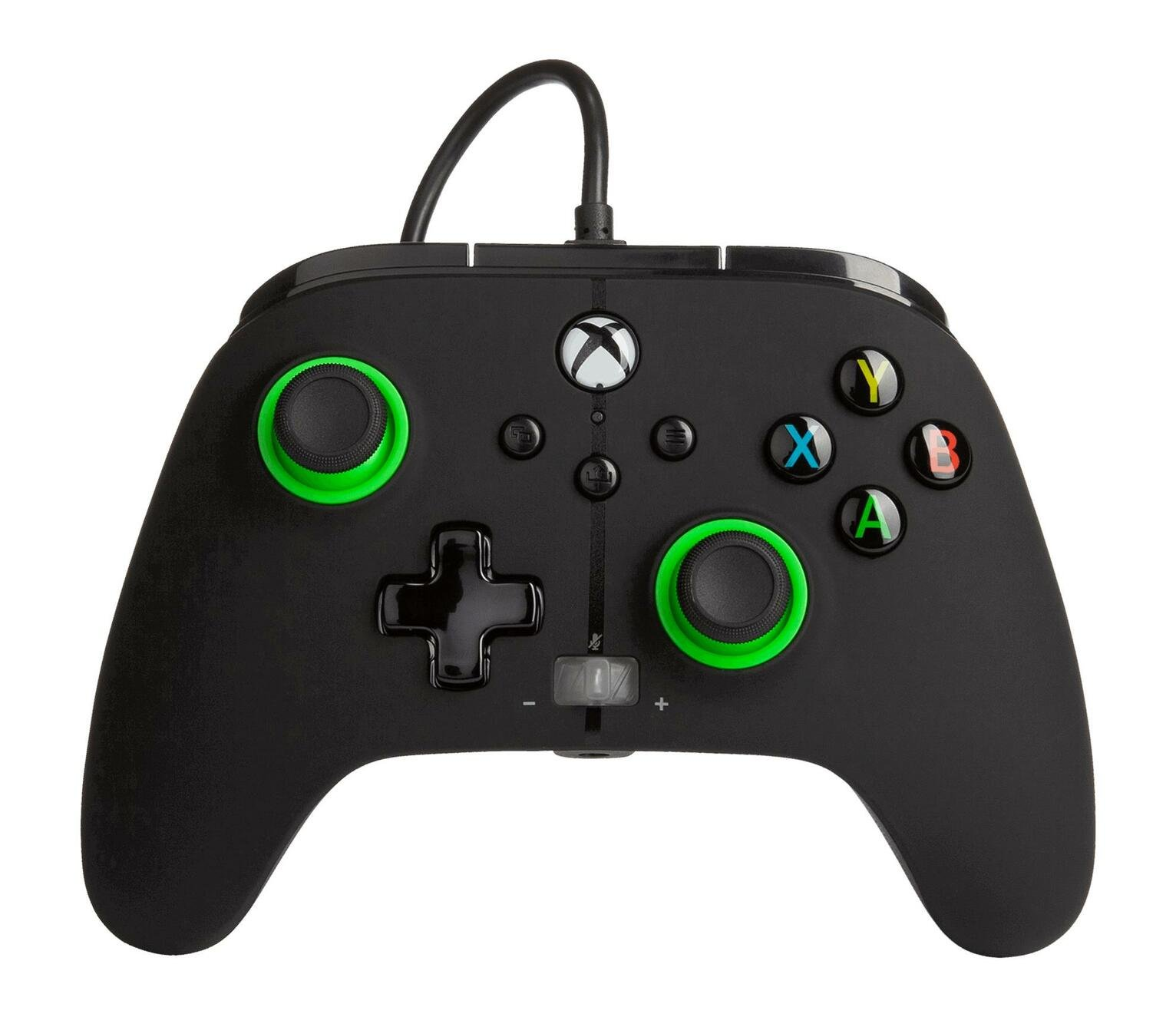 PowerA Xbox X-S / One Enhanced Wired Controller - Green Hint