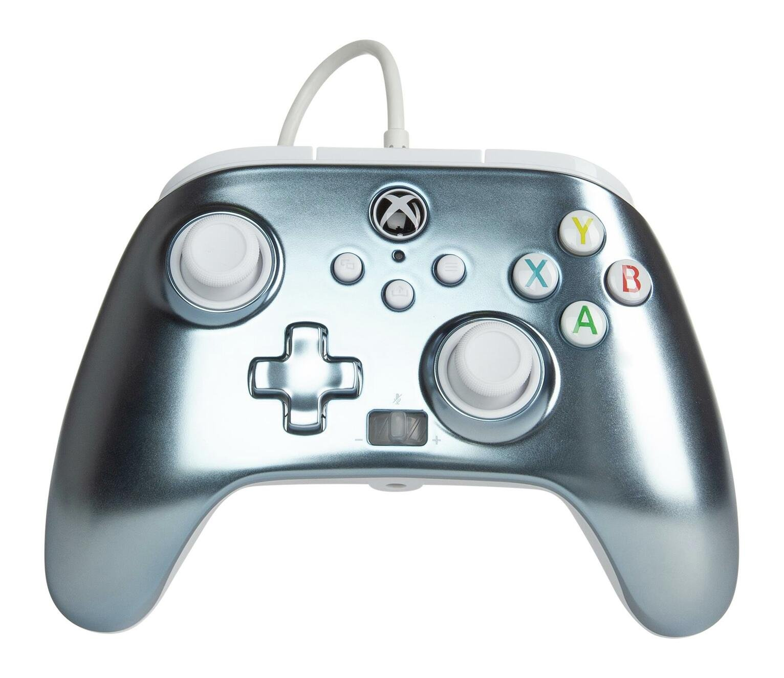 PowerA Xbox One Enhanced Wired Controller - Metallic Ice