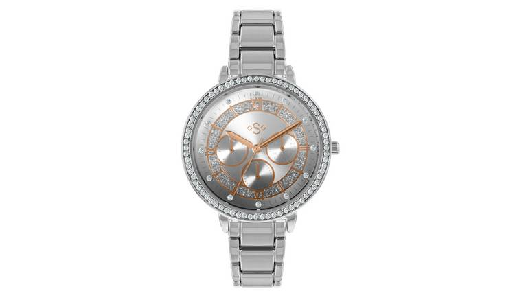 Spirit Ladies Silver Metal Bracelet Watch