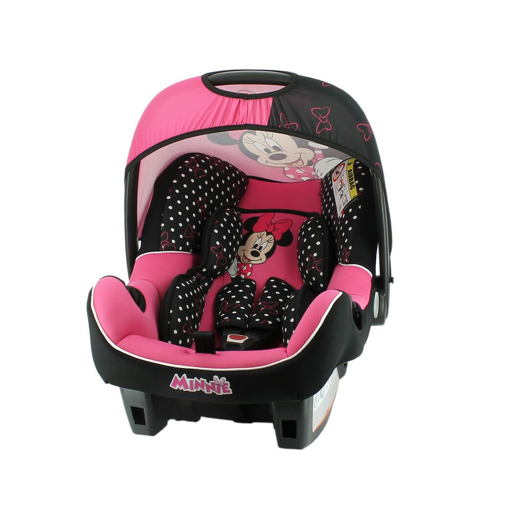 Disney Beone Minnie Mouse Group 0+ Baby Car Seat - Pink