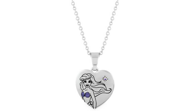 Disney Little Mermaid Pendant Necklace