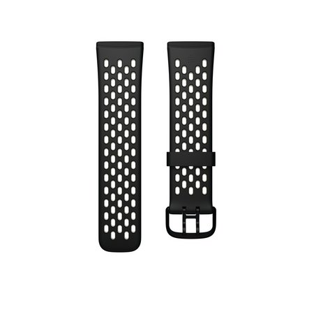 Fitbit Versa 3 Sense Sport Black Band - Small