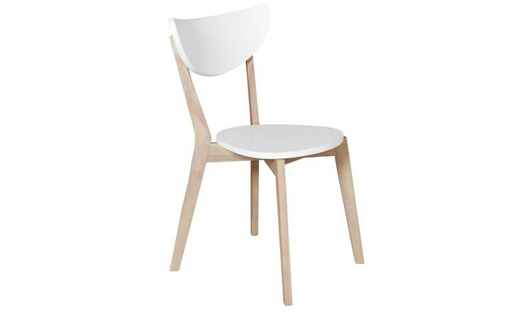 Habitat Harlow Stackable Dining Chair - White