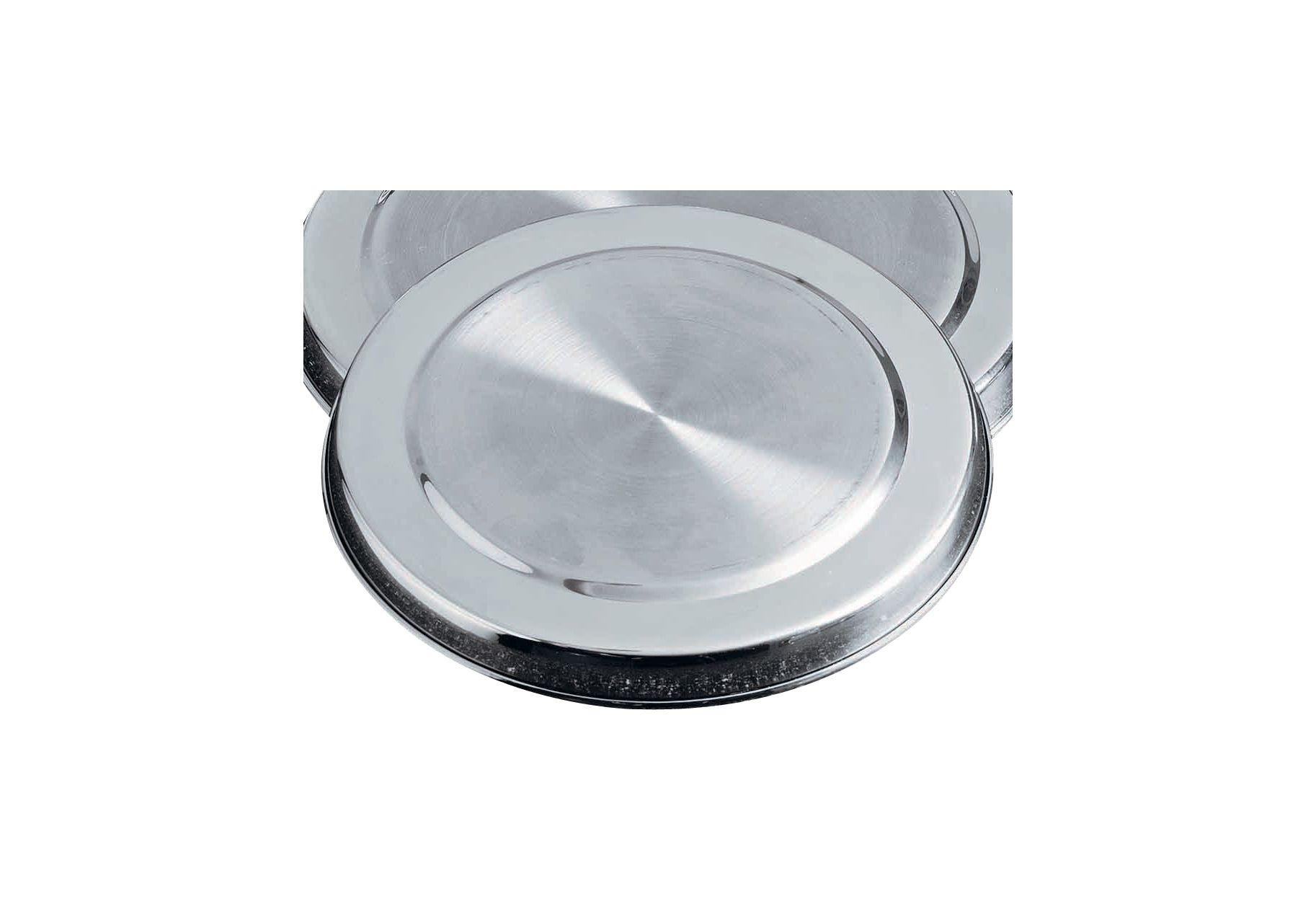 Image of HOME - Set of 4 Stainless Steel Hob Covers