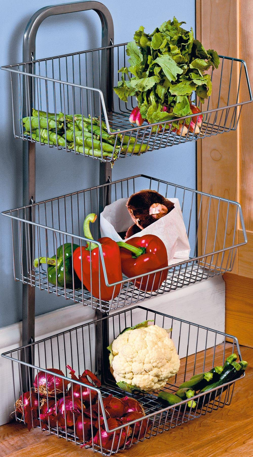argos kitchen storage buy home 3 tier vegetable stand at argos co uk your 1342