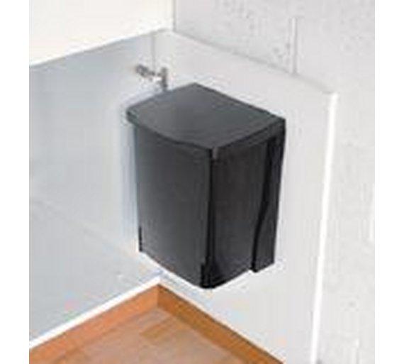Buy Brabantia 10 Litre Built-In Kitchen Cupboard Bin - Black ...