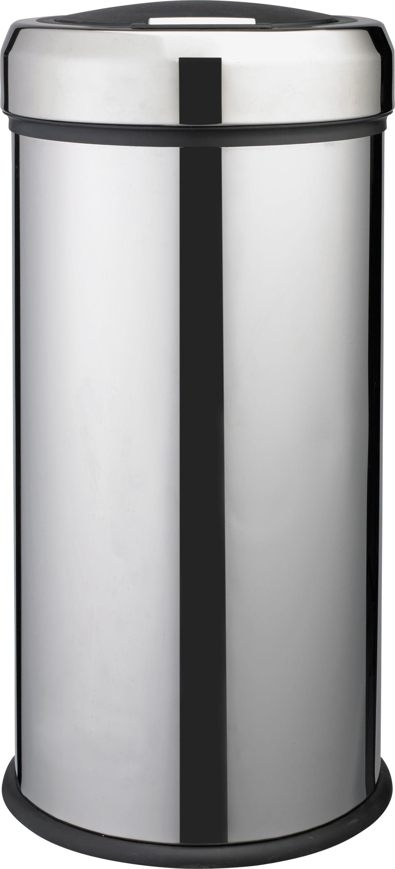 Argos Home 30 Litre Touch Top Kitchen Bin - Silver