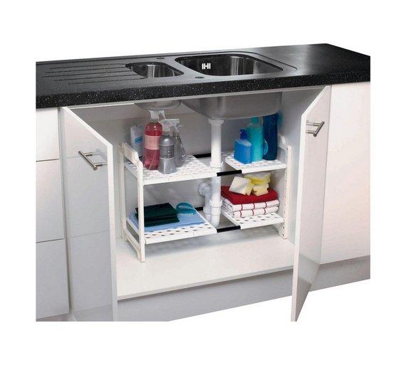 click to zoom - Under Kitchen Sink Storage