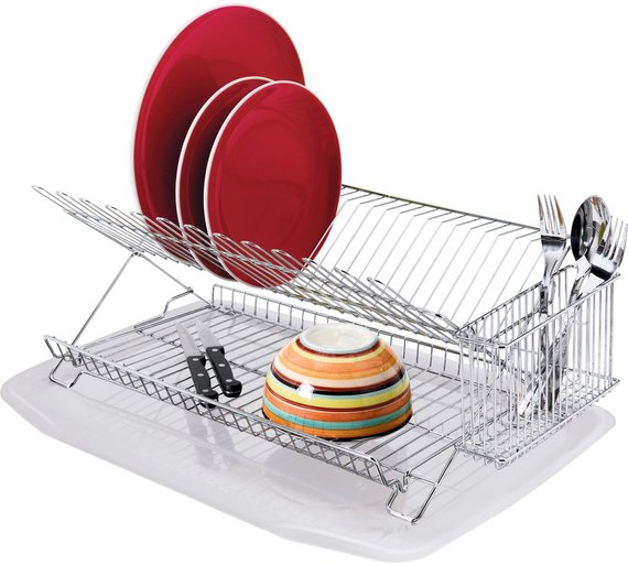 buy home dish rack with drainer
