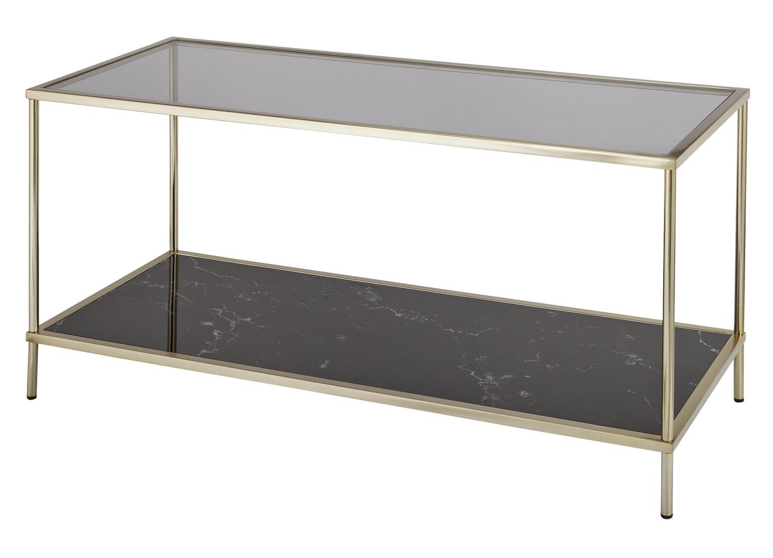 Argos Home Midnight Opulence Coffee Table - Bronze