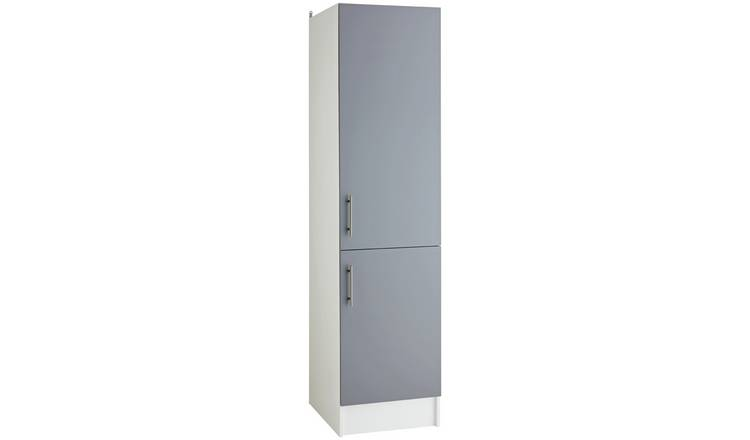 Argos Home Athina 500mm Fitted Kitchen Tall Unit - Grey