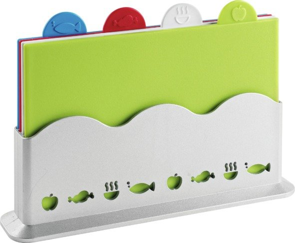 Image of HOME - 4 Piece Plastic Chopping Board Set