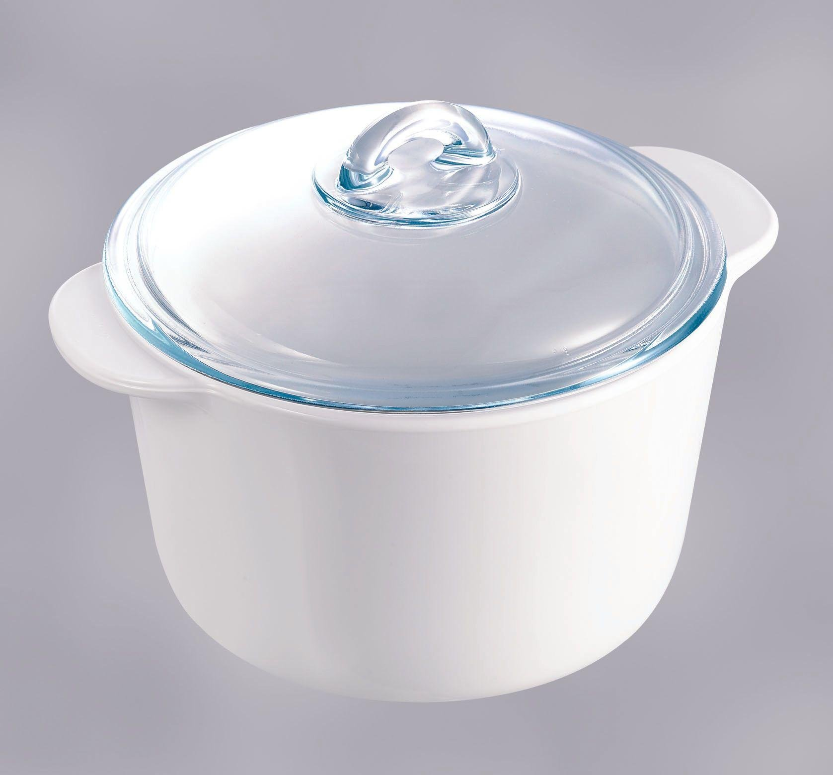 pyrex round glass casserole ndash 1l