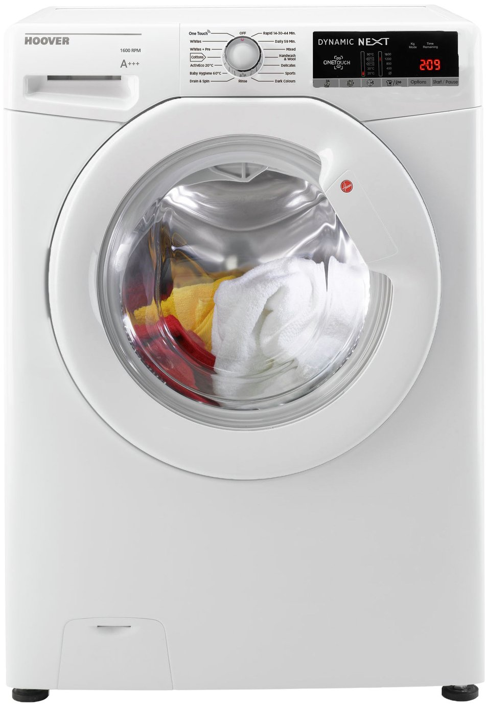 Hoover DXOA 69LW3 9KG 1600 Spin Washing Machine - White