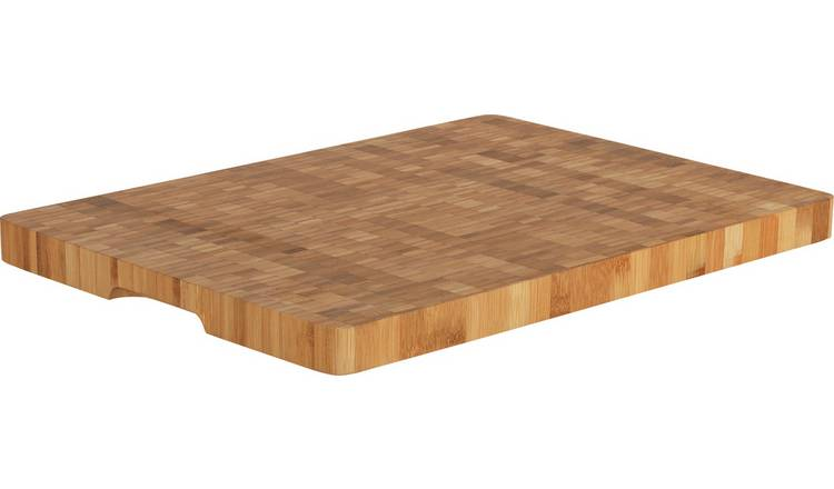 Argos Home Salisbury Large Solid Wood Butchers Block
