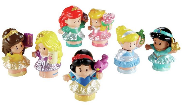 Buy Fisher Price Little People Disney Princess Figures 7 Pack 2 For 30 Pounds On Toys Argos