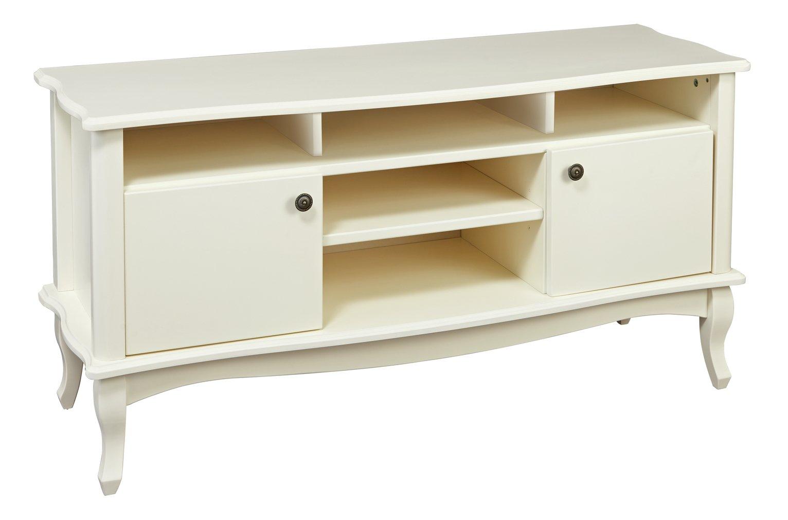 Argos Home Serenity 2 Door TV Unit - Off-White