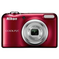 Nikon Coolpix A10 16MP 5x Zoom Compact Digital Camera - Red