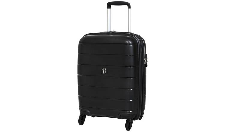 it Luggage Asteroid Expandable 4 Wheel Hard Cabin Suitcase
