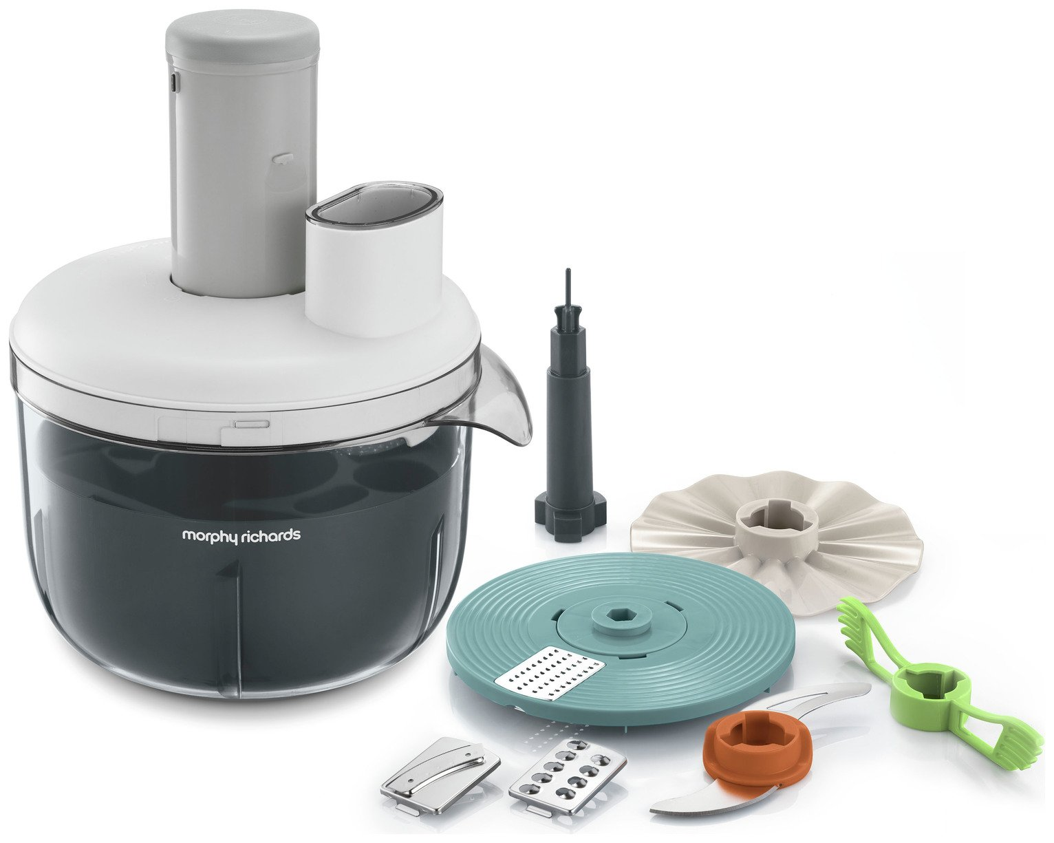 Morphy Richards 401012 Prepstar Food Processor - White
