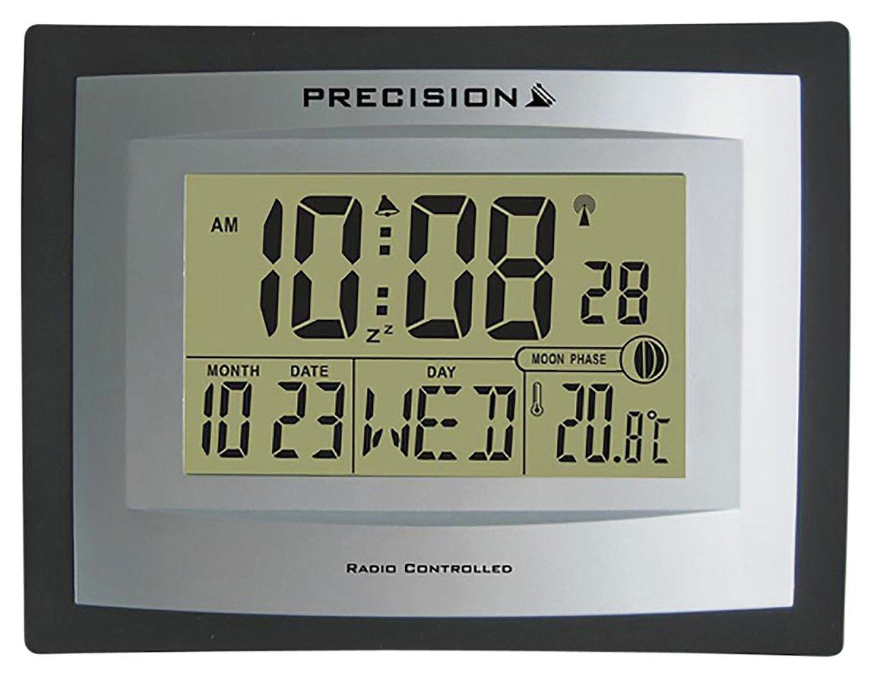 Precision LCD Radio Controlled Clock