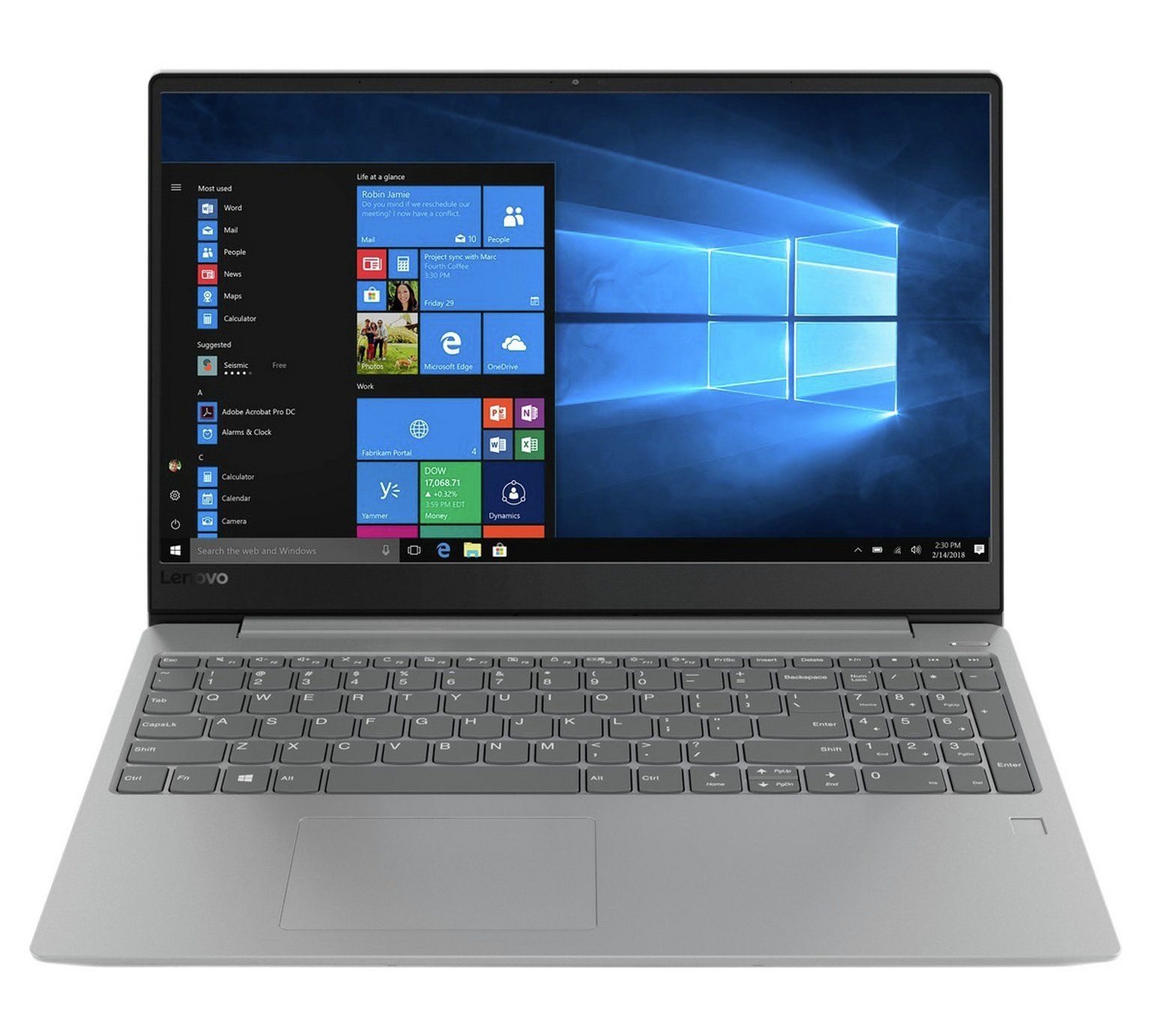 Lenovo IdeaPad 330S 15.6 Inch i5 8GB 256GB Laptop - Grey