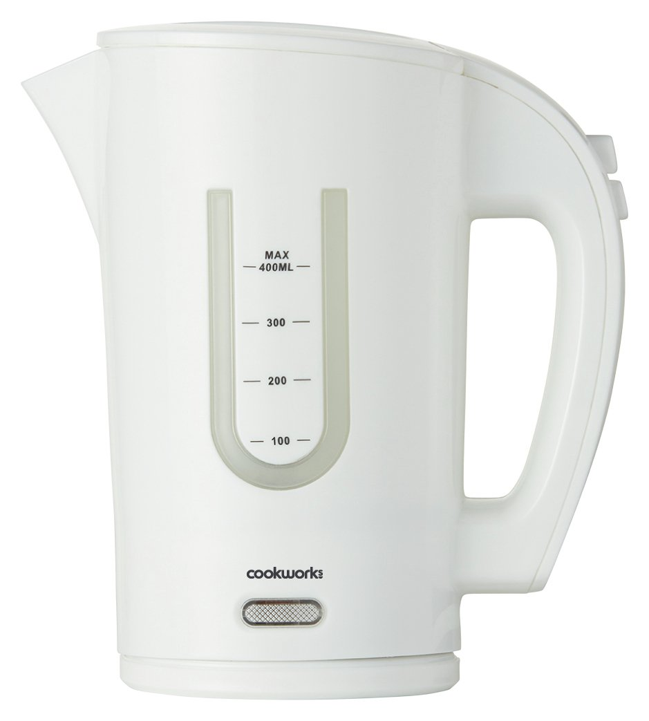 Cookworks Travel Kettle - White