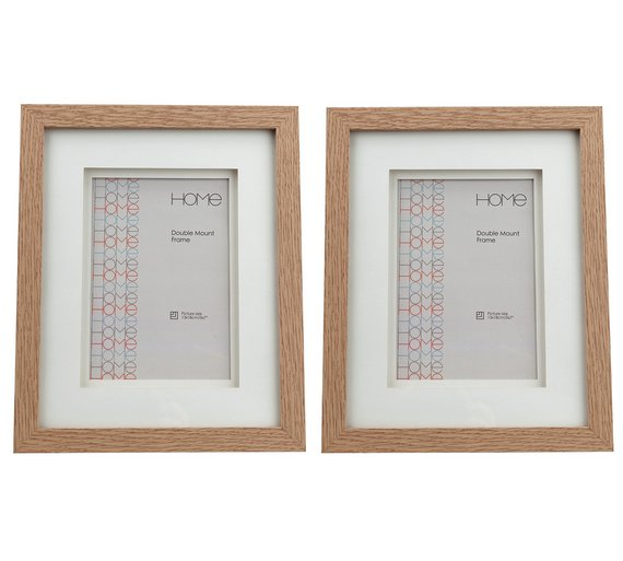 Buy Argos Home Set Of 2 5x7 Inch Double Mount Frames Photo