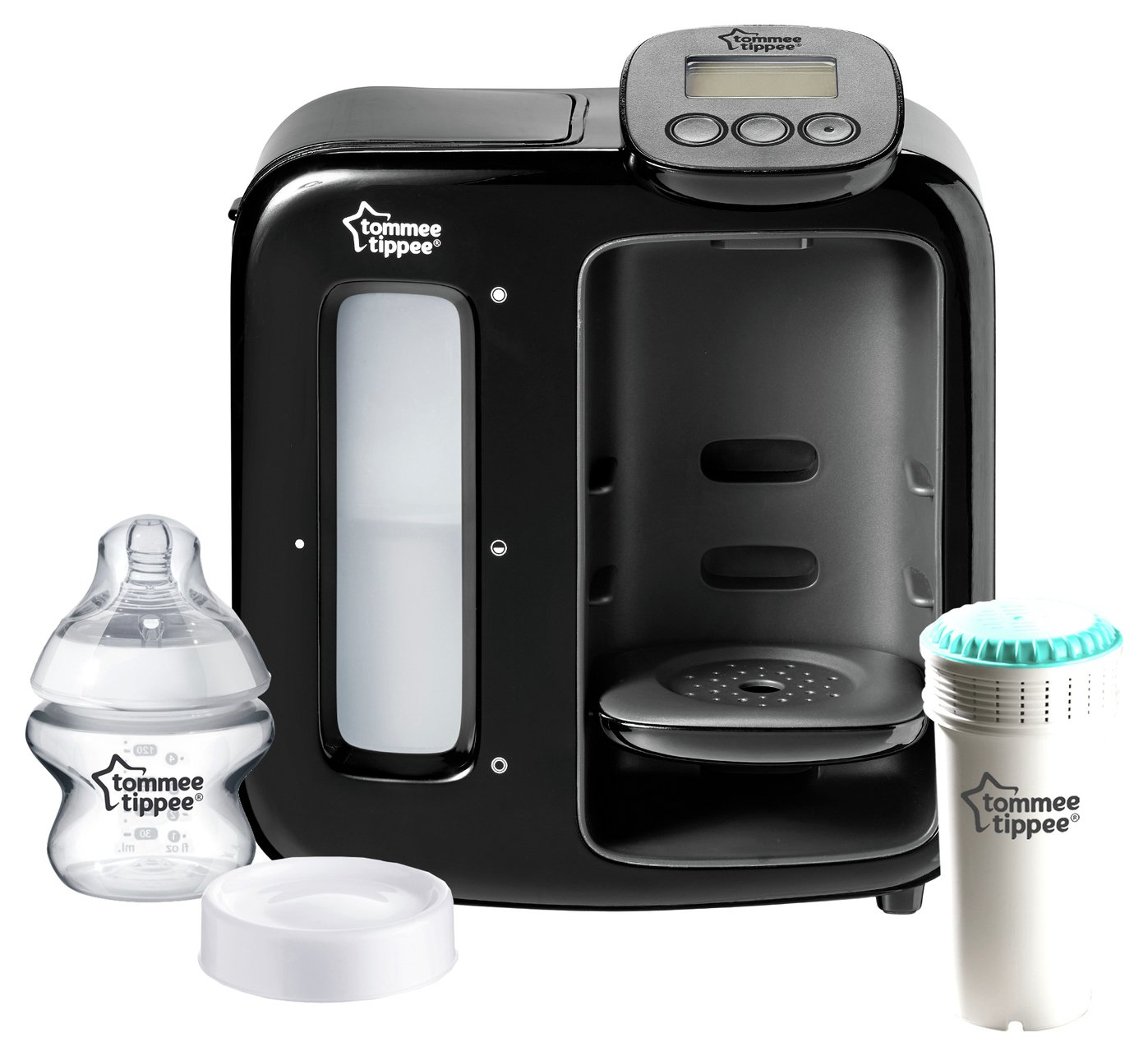 Image of Tommee Tippee Perfect Prep Day & Night - Black