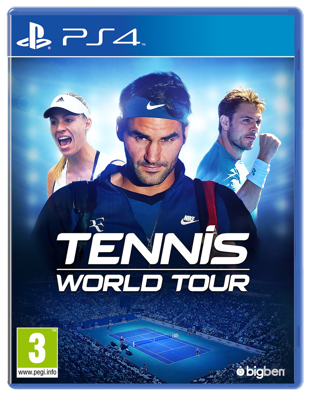 Tennis World Tour PS4 Game