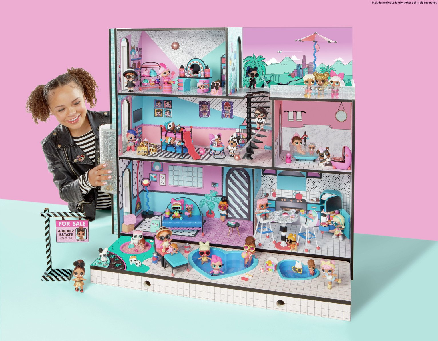 Buy Lol Surprise House Playset Action Figures And Playsets Argos