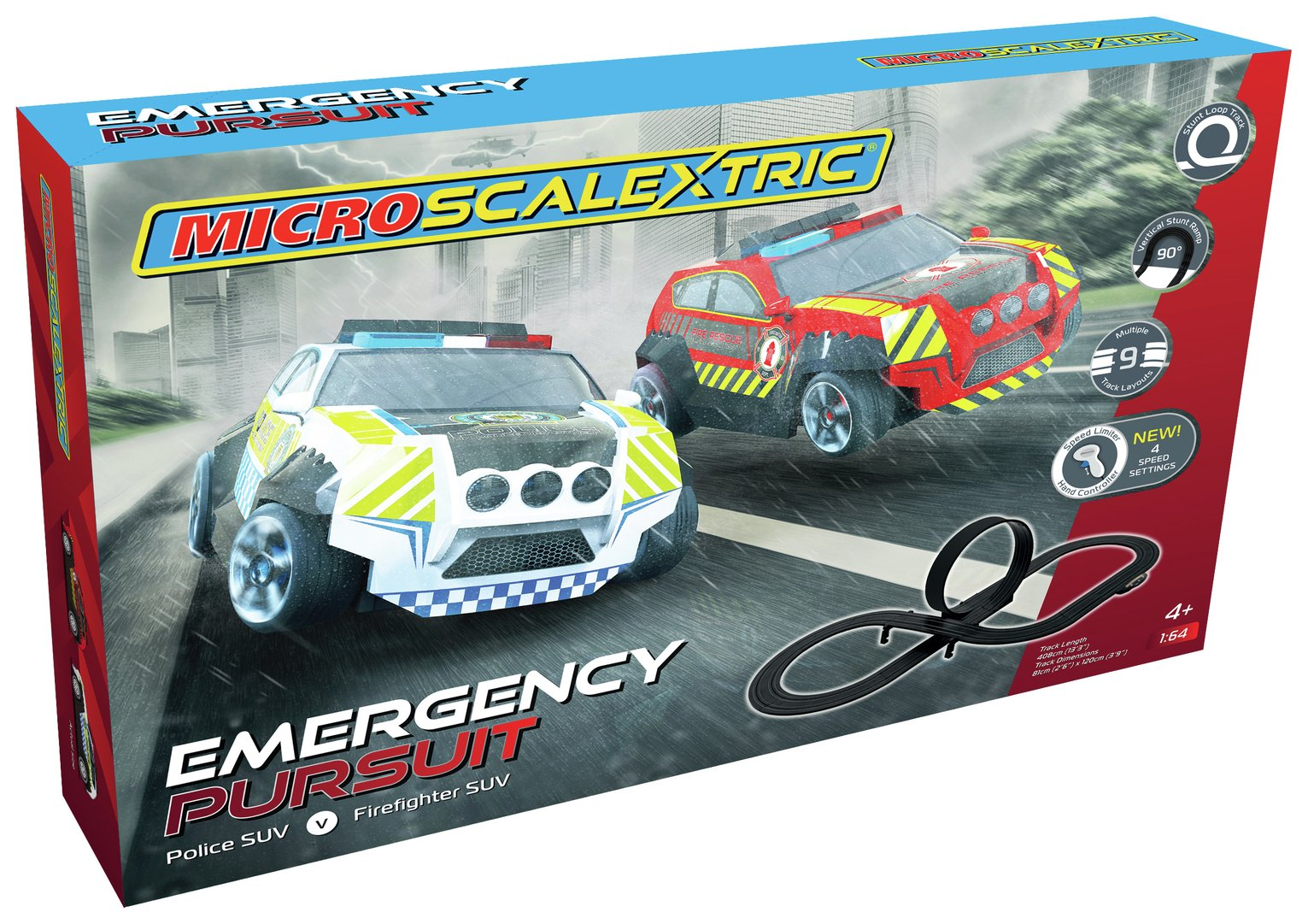 Scalextric Emergency Pursuit Playset