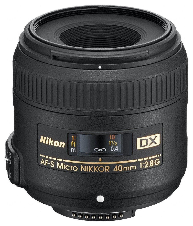 Nikon  AF-S 40mm f/2.8 G DX Micro NIKKOR Lens