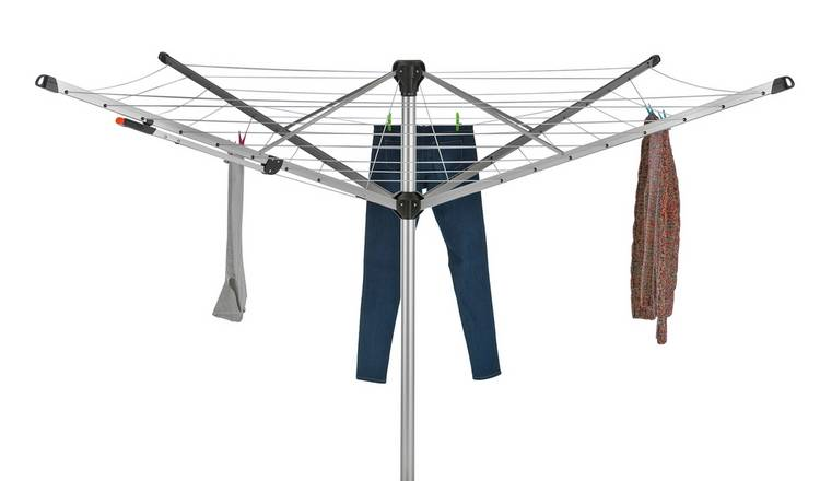 Addis Easi-Lift 50m 4 Arm Rotary Airer