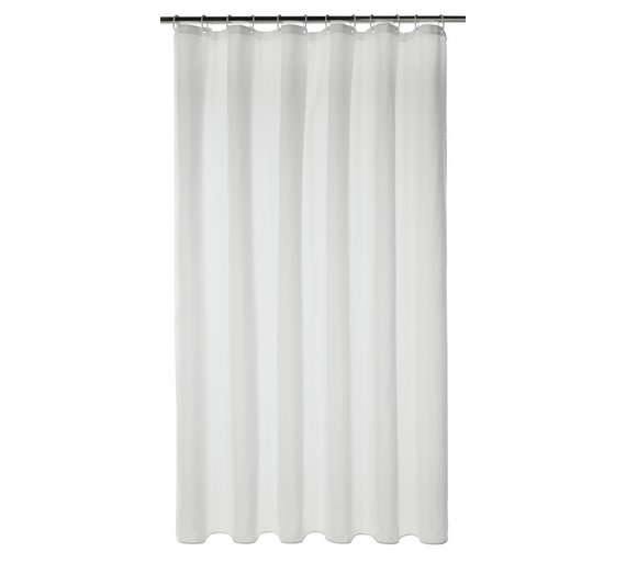 Buy Argos Home Mould Resistant Shower Curtain