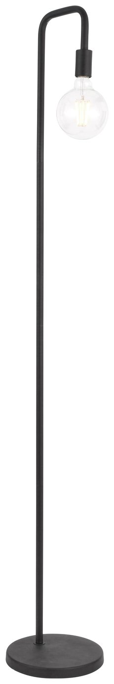 Argos Home Rayner Industrial Floor Lamp - Black