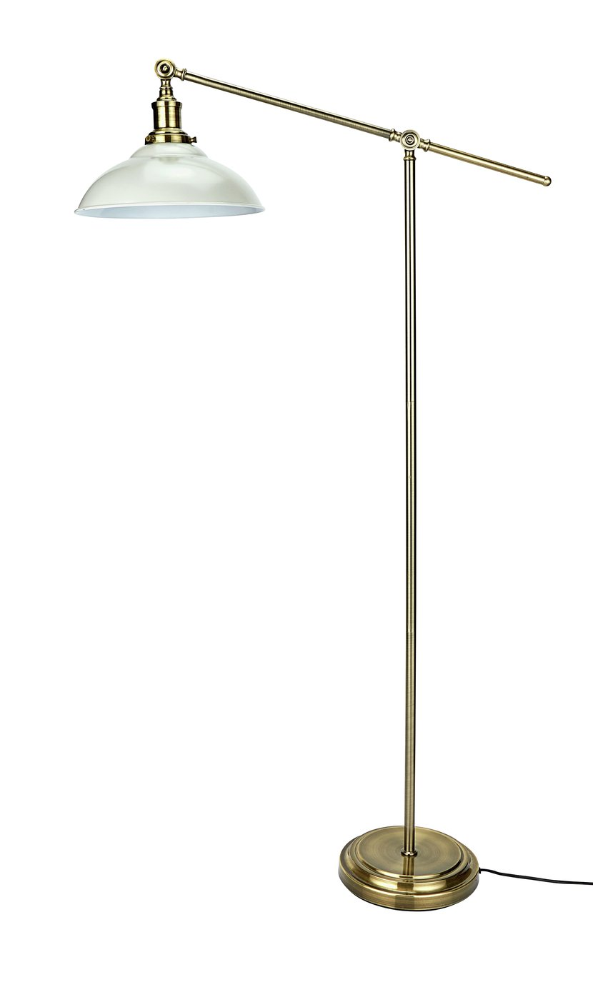 Argos Home Tudway Floor Lamp - Grey
