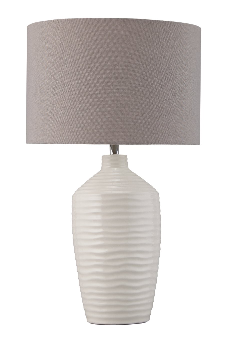 Argos Home Ripple Ceramic Table Lamp