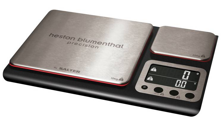 Heston Blumenthal Double Platform Digital Scale - Black