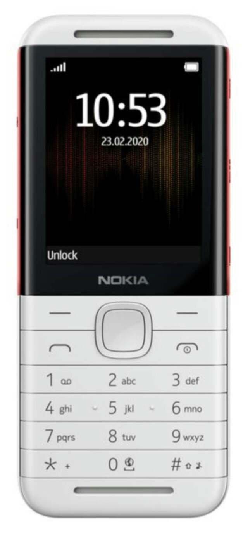 SIM Free Nokia 5310 Mobile Phone - White