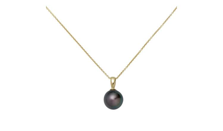 Revere 9ct Gold Cultured Freshwater Pearl Pendant Necklace