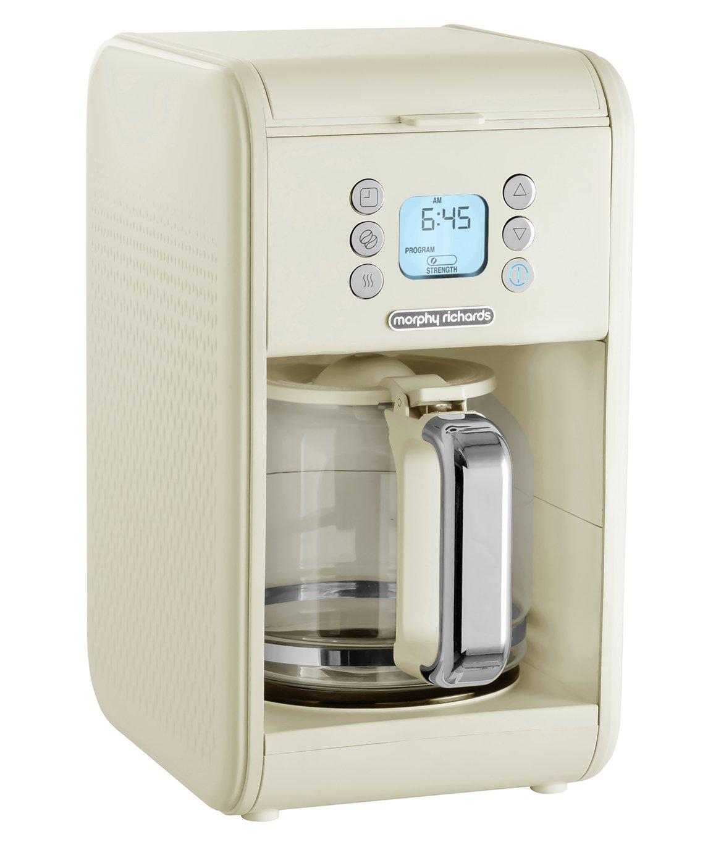 Morphy Richards 163006 Verve Filter Coffee Machine - Cream