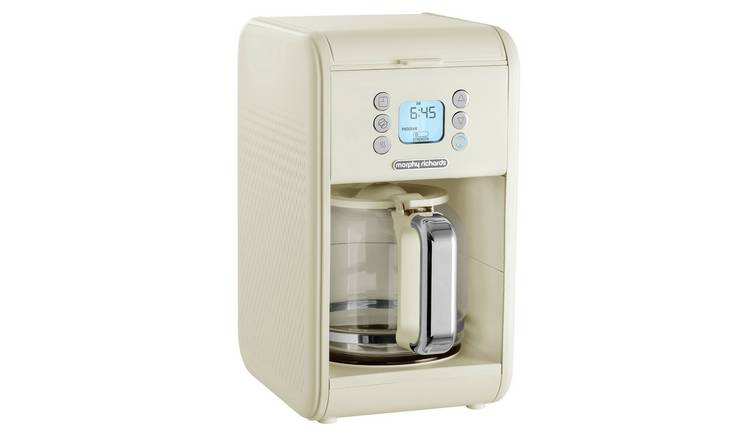 Morphy Richards 163006 Verve Filter Coffee Machine - Cream